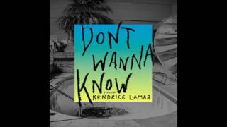 Maroon 5 feat. Kendrick Lamar - Don't Wanna Know (Extended)