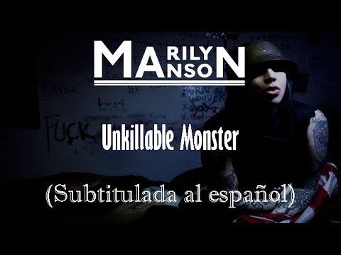 Marilyn Manson - Unkillable Monster (Subtitulada al español HD)