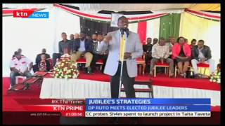 DP Ruto meets elected Jubilee leaders to strategize  how to gunner Nairobi seats