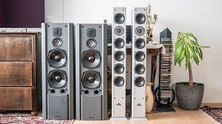 Vintage speaker listening: CD Referenz R-500 vs Magnat Vector Needle