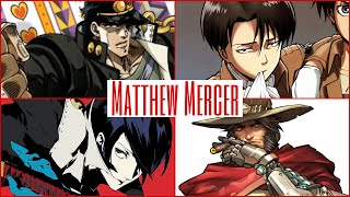 The Voices of Matthew Mercer