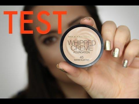 Pierwsze wrażenie + test na żywo podkład - Max Factor Whipped Cream - recenzja