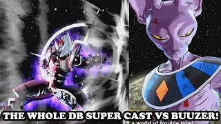 "THE WHOLE DB SUPER CAST WANTS THE STRONGEST CaC ""Buuzer"" IN THEIR TEAM (TOURNAMENT OF POWER)! DB XV2"