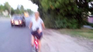 Лена велосипед