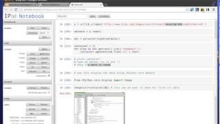 Python Tutorial - Parsing Bing XML Data and Display Image Using IPython Notebook