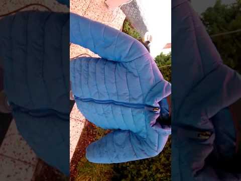 Steppjacke einschmelzen, anbrennen, Shiny Nylon melt Teil 1
