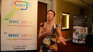 Prof. Susan Nancarrow at GHC Conference 2013 by GSTF Singapore