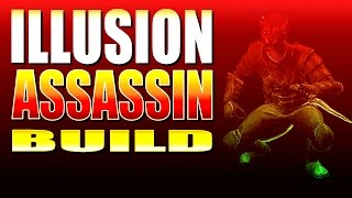 Skyrim SE - ILLUSION ASSASSIN BUILD - Awesome Deadly Dagger Sneak Attacks (One-Shot a Giant!)