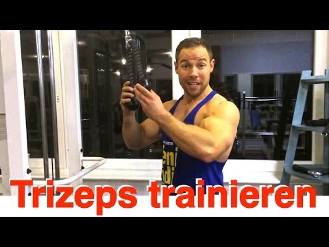 Trizeps richtig trainieren am Kabelzug