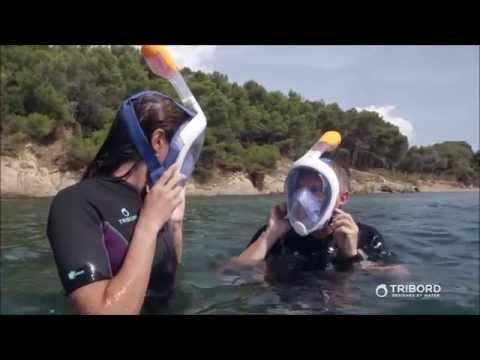 Full face snorkel mask: Tribord EasyBreath