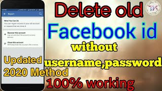 [New Method] How to delete facebook account without username and password 2020