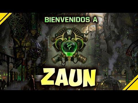 ZAUN, esto es FASCINANTE, gracias Riot   League Of Legends LOL