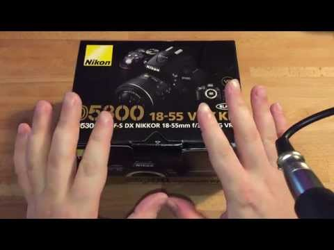 Nikon D5300 Digital SLR with 18-55mm VR II Compact Lens Kit - Unboxing & First Impressions!