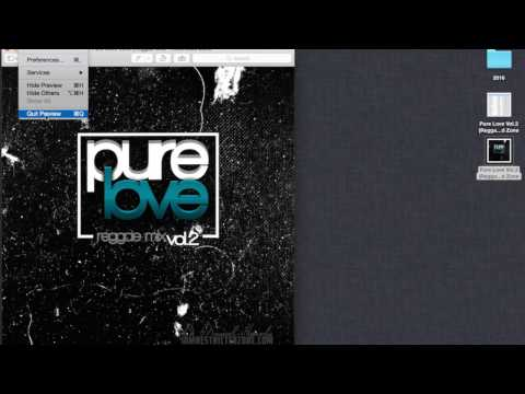 "Restricted Zone – Pure Love Vol.2 (Reggae Mix) 2017 ""Preview Tracklist"""