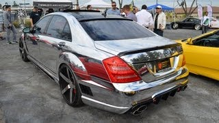 LORINSER: Mercedes-Benz S65 Chromed Out Body Wrap W221