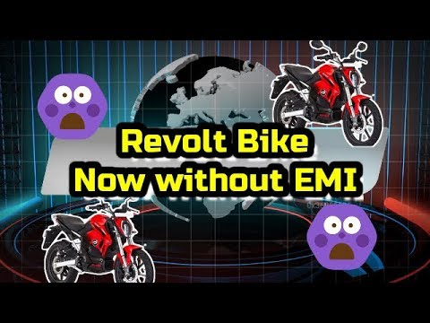 Video: Revolt RV400 and RV300 can now be purchased without any EMI plans