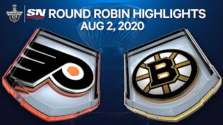 NHL Highlights | Flyers Vs. Bruins – Aug. 2, 2020