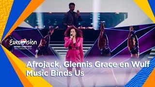 Intervalact Afrojack, Wulf en Glennis Grace - Music Binds Us | Grand Final | Eurovision 2021 تحميل MP3