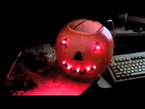 Hack A Cheap Plastic Pumpkin To Play Custom Sounds When People Get Close