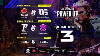🔴 [EN] ESPL Valorant PowerUpIndia | ParaTroops | Enigma Gaming |TeamMahi | WSE | Q3 - Finals Day