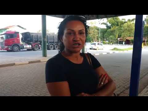 Banheiro fechado na Rodoviária de Juquitiba mais conhecida como ponto de ônibus grande mal acaba e suja causa revolta nos passageiros