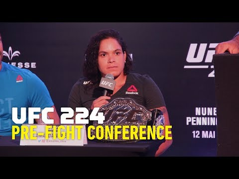 UFC 224 Press Conference - MMA Fighting