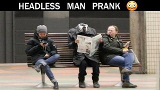 Headless man Prank - Julien Magic