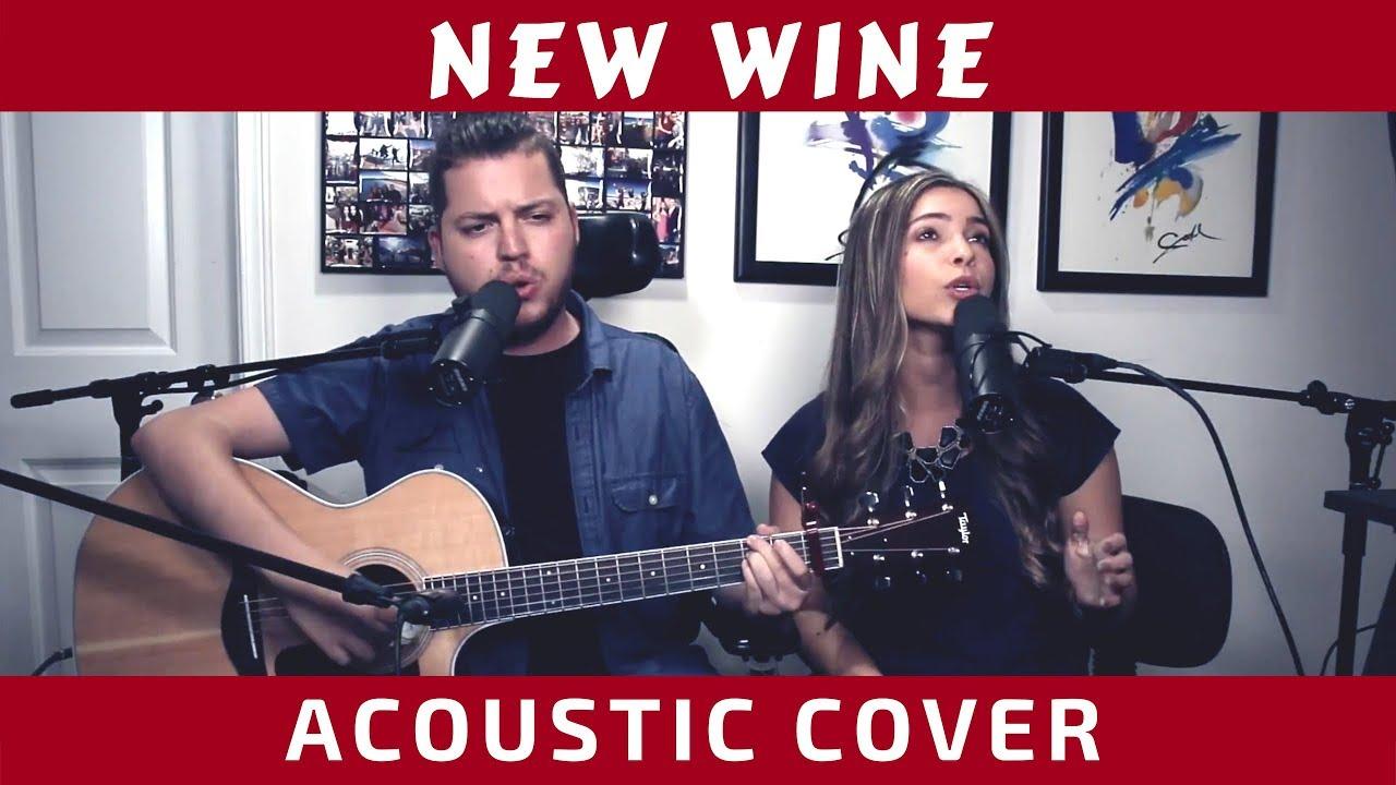 New Wine - Hillsong Worship (Cover with lyrics) - YouTube