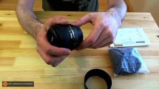 preview picture of video 'Nikkor AFS 50mm 1.4G - (Un-boxing & Review)'
