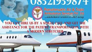 Now you can Reliable ICU Charter Air Ambulance Service in Delhi