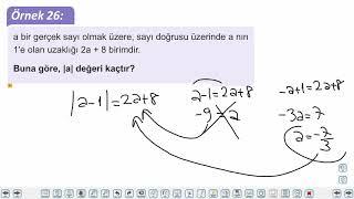 Eğitim Vadisi TYT Matematik 13.Föy Mutlak Değer 2 Konu Anlatım Videoları