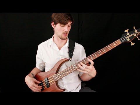 "Intermediate Solo Bass Lesson: ""Resolution"" by Josh Fossgreen"
