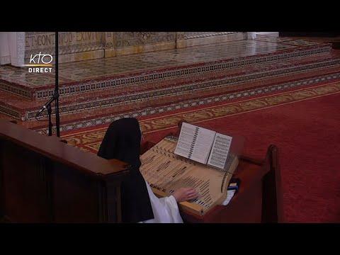 Prière du Milieu du jour du 9 juin 2021 des Bénédictines du Sacré-Coeur de Montmartre