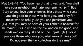 The Sermon on the Mount: Matthew 5-7