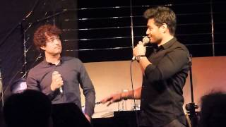 Stephen Rahman-Hughes and Lee Mead sing Luck Be A Lady
