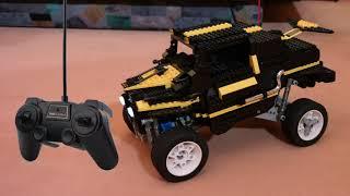 Verrücktes mit LEGO - Folge 04 (Das ferngesteuerte Auto)