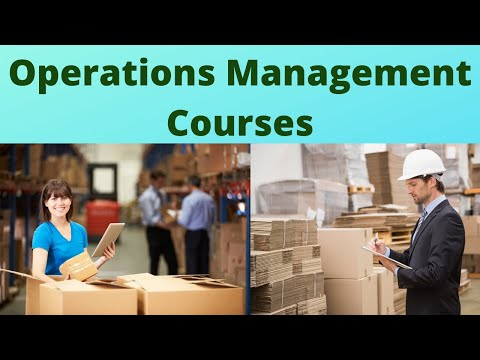 Operations Management Course | Operations Management Training ...
