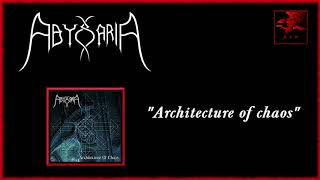 Abyssaria   Architecture of chaos