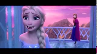 písničky z ledového království- právě teď a tady