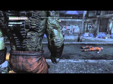 Batman: Arkham City: Playable Killer Croc Mod