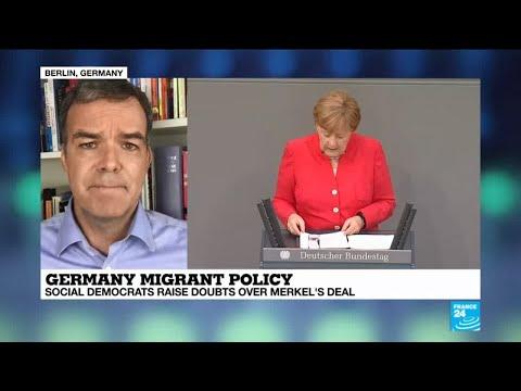 Germany migrant policy: SPD raises doubts over Merkel's deal