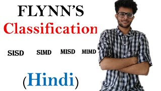 flynn's classification or taxonomy  in parallel computing in hindi