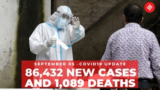 Coronavirus on September 5: India reports 86,432 new Covid-19 cases  IMAGES, GIF, ANIMATED GIF, WALLPAPER, STICKER FOR WHATSAPP & FACEBOOK