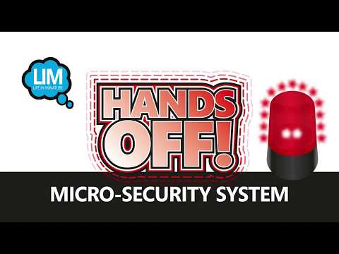 Youtube Video for Hands Off - Protect your belongings!