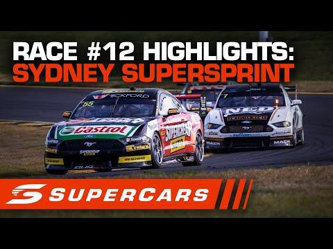 SUPERCARS シドニースーパースプリント レース#12ハイライト動画