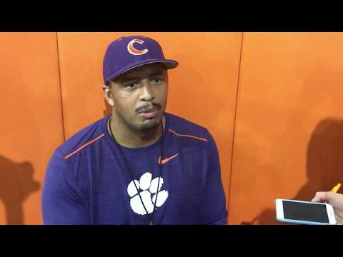 TigerNet: Tony Elliott  after practice - 8/9/2017