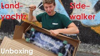 Endlich ein neues Longboard! Landyachtz Sidewalker Komplett-Longboard Unboxing: Der Alleskönner?!