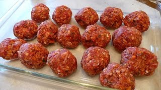 SMOKED VENISON BALLS!!! Deer Meat For Dinner!!! Tasty Tuesday!!!