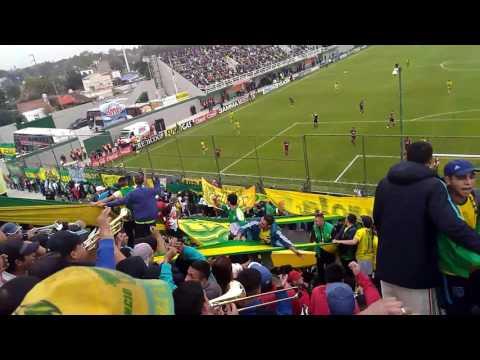 """""""NO PASA NADA SIEMPRE ESTUVIMOS EN LAS MALAS/ DYJ 1 VS LANUS 0"""" Barra: La Banda de Varela • Club: Defensa y Justicia"""
