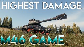 The Highest Damage M46 Patton Game on WoTReplays